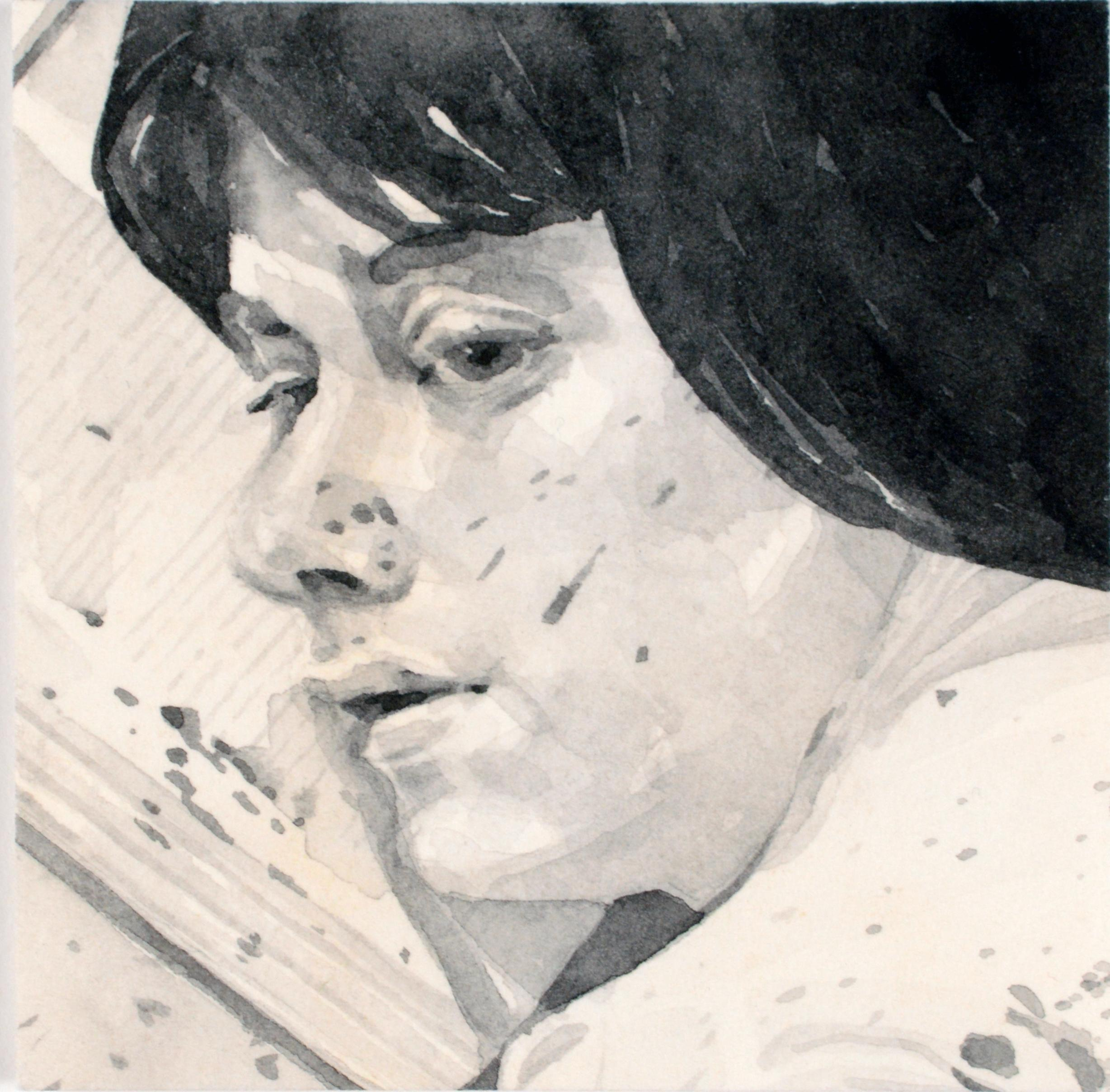 <p>Samantha Scherer. <em>06-117</em>. 2009-10. Watercolor on stained paper. Henry Art Gallery, purchased with funds from the Ambrose M. and Viola H. Patterson Endowment Fund, 2016.12.19. © Samantha Scherer. </p>