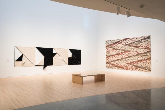 <p><i>Canvas Constructions: Karen Carson and Allan McCollum.</i> [installation view] 2015. Henry Art Gallery, University of Washington, Seattle. Photo credit: RJ Sánchez   Solstream Studios.</p>