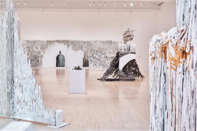 <p>Installation view of <em>Diana Al-Hadid:&nbsp;Archive of Longings</em>, 2021, Henry Art Gallery, University of Washington, Seattle. Photo:&nbsp;Jonathan Vanderweit, courtesy of Henry Art Gallery.</p>