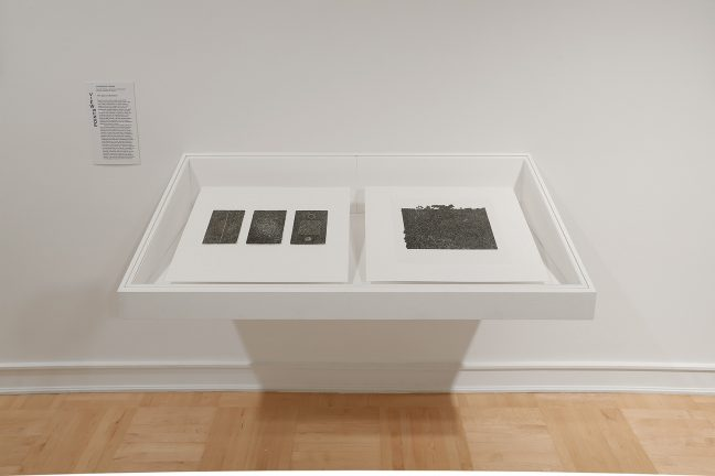 <p><em>Viewpoints: Untitled Prints by Bruce Conner</em>. [installation view, Henry Art Gallery, University of Washington, Seattle]. 2018. Photo: Mark Woods</p>