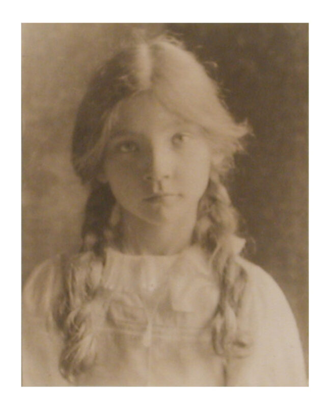 <p>Eva Watson-Schutze, <i>Portrait of a Young Girl</i>, c. 1905. Platinum print. Henry Art Gallery, Joseph and Elaine Monsen Photography Collection, 2007.58.</p>