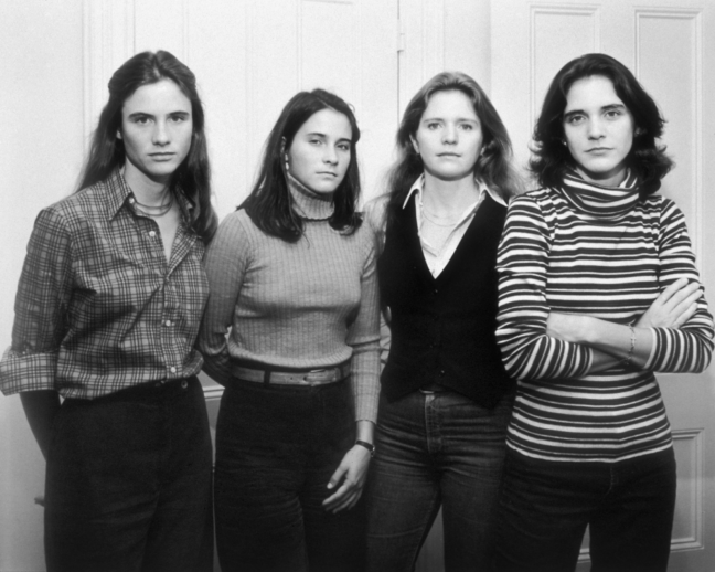 <p>Nicholas Nixon, Heather Brown McCann, Mimi Brown, Bebe Brown Nixon, Laurie Brown, Cambridge, Mass., 1977. Gelatin silver print. Henry Art Gallery, Joseph and Elaine Monsen Photography Collection, gift of Joseph and Elaine Monsen and The Boeing Company, 97.266. &copy; Nicholas Nixon, courtesy Fraenkel Gallery, SF and Yossi Milo Gallery, NY.</p>
