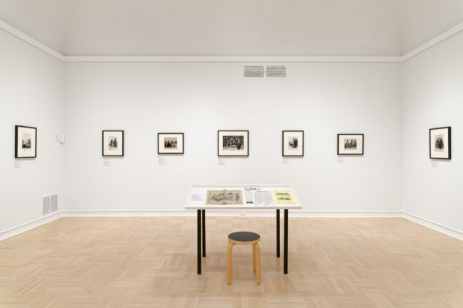<p>Honoré Daumier&nbsp;and Danny Lyon. Installation view of&nbsp;<i>Illustrating Injustice: The Power of Print</i>, 2021, Henry Art Gallery, University of Washington, Seattle. Photo: Jueqian Fang.</p>