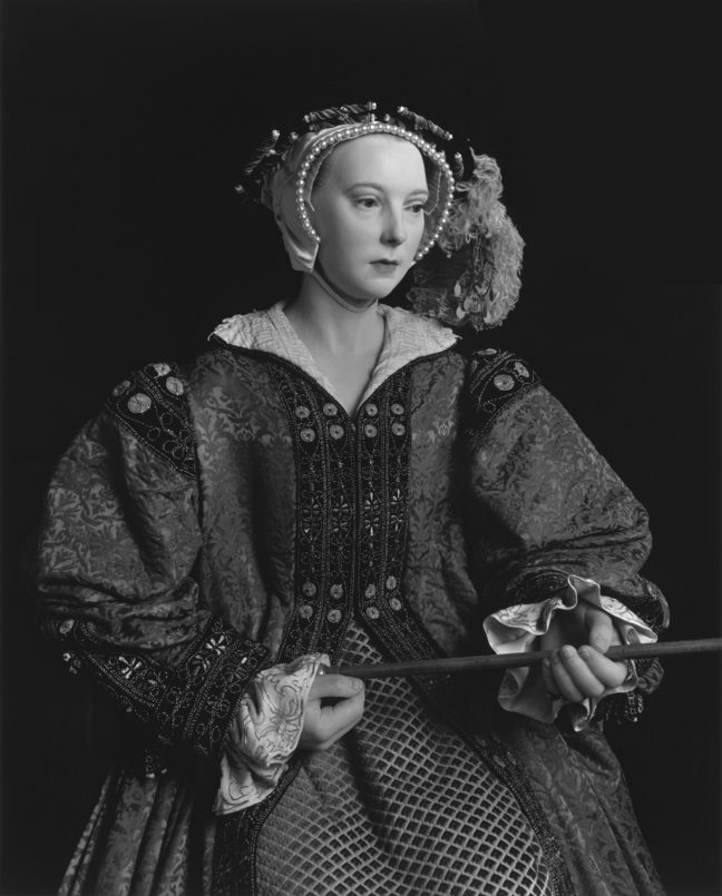 <p>Hiroshi Sugimoto. <i>Catherine Parr. </i>1999. Gelatin silver print. Henry Art Gallery, Virginia and Bagley Wright Collection, 2014.185. Photo credit: Copyright Hiroshi Sugimoto, courtesy Fraenkel Gallery, San Francisco.</p>