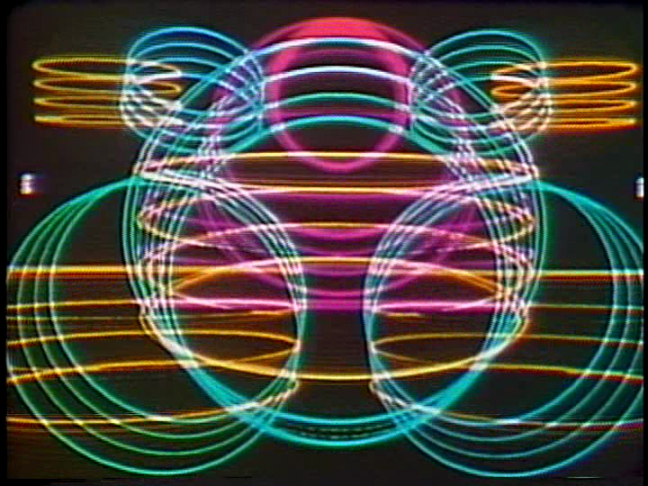 <p>Doris Totten Chase. <em>Circles I</em> [video still]. 1970. Single-channel video (color, with sound). Duration: 6:45 minutes. Image courtesy of Randall J. Chase.<br /><br /></p>