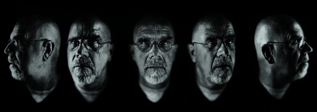 <p>Chuck Close.<em> Self-Portrait/Five Part.</em> 2009. Jacquard tapestry. Private Collection. Image courtesy of the artist and Parrish Museum of Art.</p>
