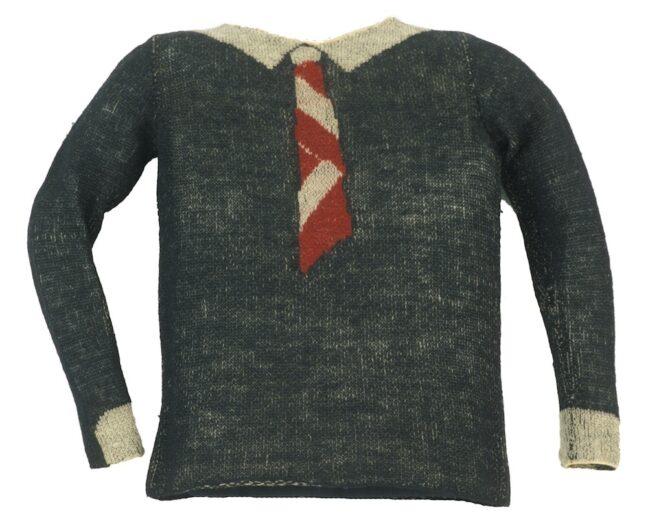 <p>Elsa Schiaparelli, Sweater, 1928-1929. Knitted wool. Henry Art Gallery, Mrs Theodore Plestcheeff Collection, 87.4-10.&nbsp;</p>