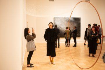 <p><em>2018 University of Washington MFA + MDes Thesis Exhibition</em>. [Installation view, Henry Art Gallery, University of Washington, Seattle, 2018.]Photo: Chona Kasinger.</p>