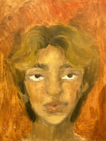 <p>Aidan Park,&nbsp;<em>Untitled Self-Portrait,&nbsp;</em>2020. Oil on canvas.&nbsp;Courtesy of the artist.</p>