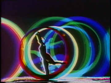 <p>Doris Totten Chase. <i>Circles II </i>[video still]. 1972. Single-channel video (color, with sound); Duration: 7:43 minutes. Image courtesy of Randall J. Chase.</p>