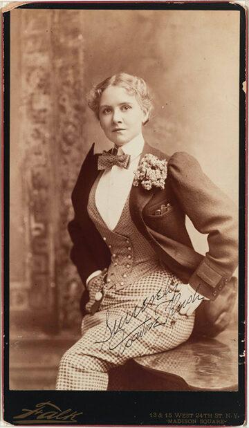 <p>Benjamin J. Falk,&nbsp;<em>Portrait of Miss Rush, the Actress</em>. c.1892–1897. Albumen print. Henry Art Gallery, Monsen Family Collection, gift of Maren Monsen and Jeffry Grainger, 2020.88.</p>