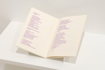 <p>Breanna, Chelsea, Fermina, Lisa, Sabrina, Shawn, Shellie, Sheryl, Soy, and Tatïana, <em>We Own Our Words</em>, 2021. Zine. Courtesy of the artists. Installation view of <em>We Own Our Words</em>, 2021, Henry Art Gallery, University of Washington, Seattle. Photo: Jueqian Fang.</p>