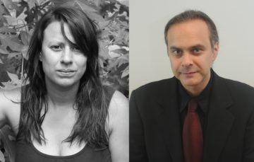 <p>Carolina Caycedo (left) &amp; Joshua L. Reid. Photos courtesy of the speakers.</p>