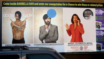 <p>Susan Mogul, Guerrilla Poster Campaign, Pacific Standard Time, Los Angeles, 2011</p>