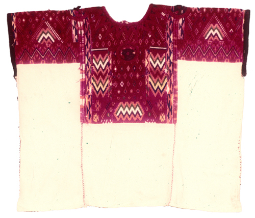 Woman's embroidered Huipil